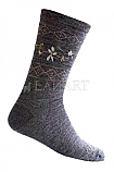 Ladies Flower Dress Socks